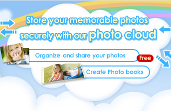 Store your memorable photos securely with our photo cloud